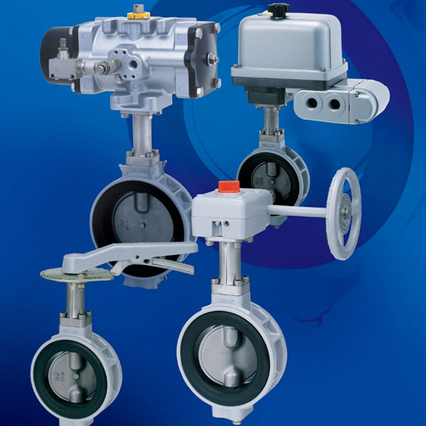 XJ Series Butterfly Valves