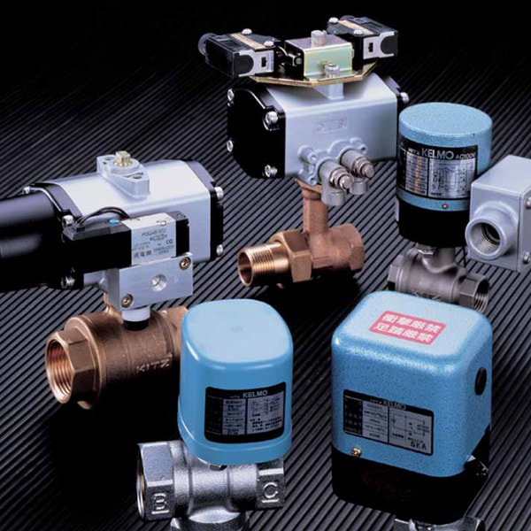 Actuator Driven Compact Ball Valves